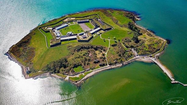 Spike Island Aerial View