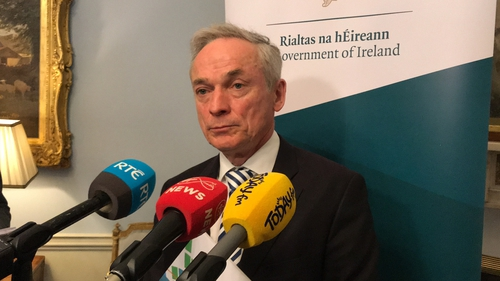 Minister Richard Bruton told Senators the government was right to reject the advice of the Department of Public Expenditure and Reform