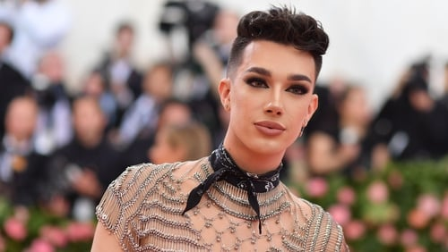 James Charles attended the 2019 Met Gala. Photo: Getty