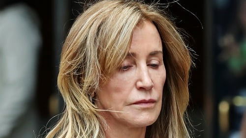 Felicity Huffman paid $15,000 to have someone correct her daughter's SAT exam