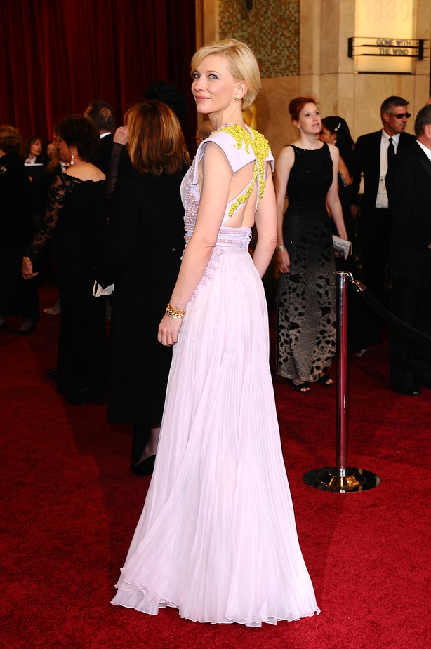 Cate Blanchett arriving for the 83rd Academy Awards at the Kodak Theatre, Los Angeles