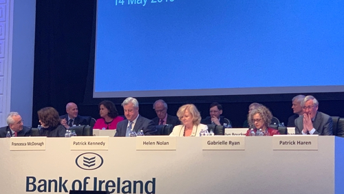 Bank of Ireland is holding its AGM in Dublin today