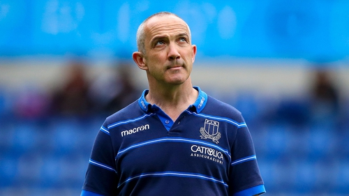 Conor O'Shea has coached Italy since 2016