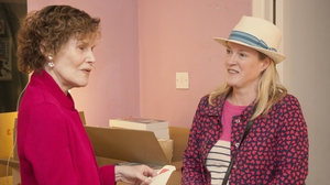 Legendary author Judy Blume with ILDF programmer Sarah Webb