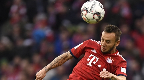 Rafinha has announced that he is leaving the German side