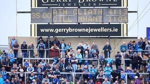 There was plenty of room on the terrace as Dublin hammered Wicklow last year