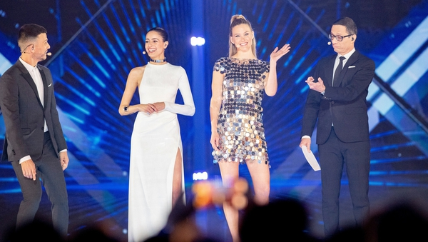 The hosts for this year's Eurovision
