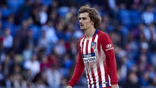 Antoine Griezmann announced last month he would leave Atletico this summer
