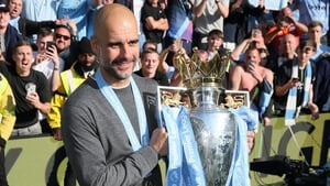 The Man City boss edged out competition from Jurgen Klopp and Mauricio Pochettino