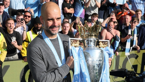 "Pep Guardiola: ""If they do not kick me out, I'll stay there."""