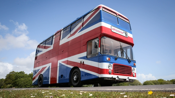 Spice Girls Bus