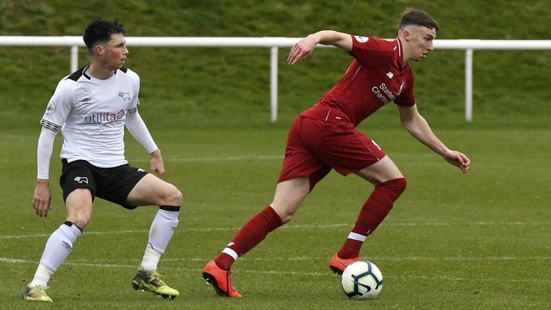 Irish underage player Masterson set for Liverpool exit