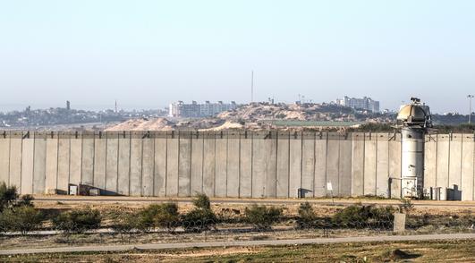 Israel-Gaza border - two women, a common dream