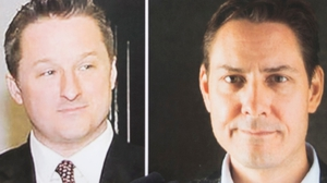 Michael Spavor (L) and Michael Kovrig have been held in China since December last