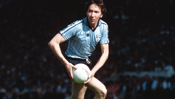 Anton O'Toole in action for Dublin in 1984