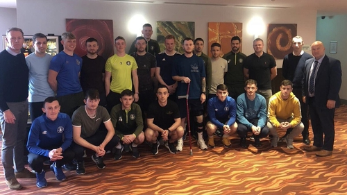 The Limerick FC squad