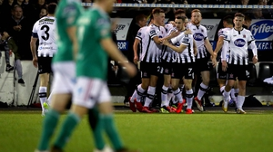 Dundalk beat Cork earlier in the season at Oriel Park
