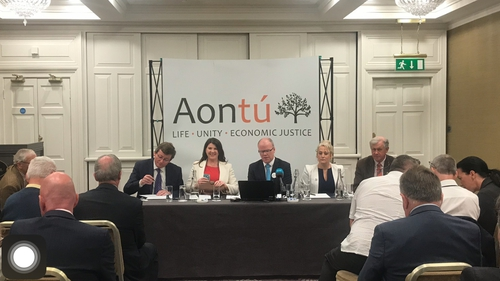 Speaking at the launch of the manifesto, Peadar Tóibín said the party is operating on 'fresh air'