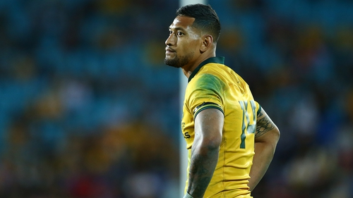 Folau had previously been warned over making homophobic comments on social media in 2018