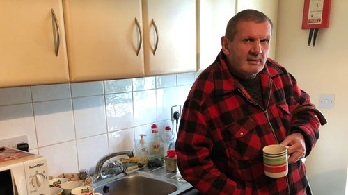 Dennis Connolly was homeless for decades