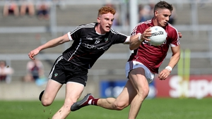 Galway's Shane Walsh and Sean Carribine of Sligo in action during last year's championship meeting between the sides