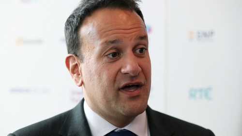 Leo Varadkar said he wanted to get to point where person on average wage does not pay any tax at the highest rate