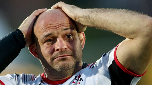 Rory Best played his final game for Ulster