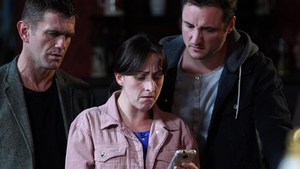 Sonia and Martin are horrified when they see a picture of missing Bex with Stuart on EastEnders