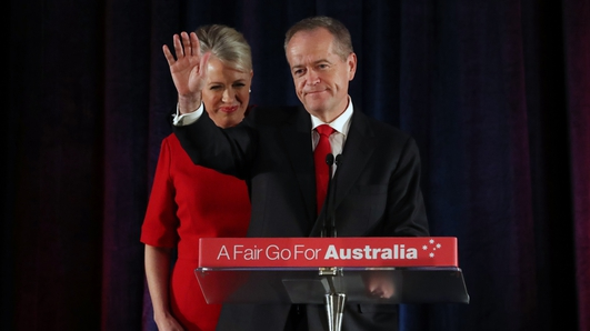 Australian opposition leader Shorten concedes election