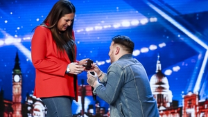 Britain's Got Talent featured on-stage proposal