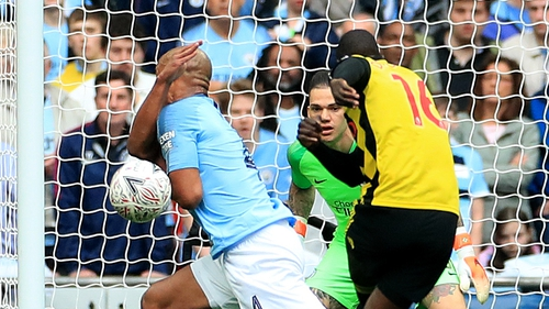 Watford were hammered 6-0 by Manchester City