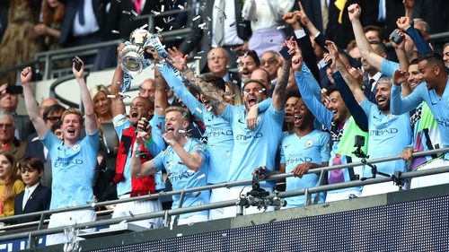 Manchester City demolish Watford to win the FA Cup