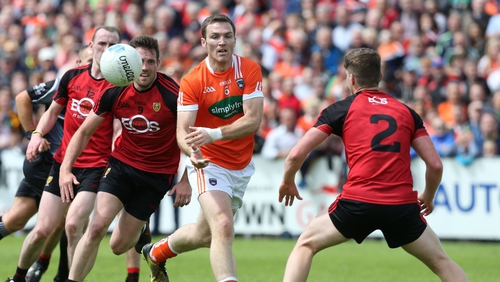 A shot of the Down-Armagh 2017 Ulster championship game