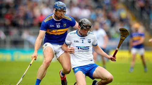 Tipperary's Jason Forde and Callum Lyons of Waterford