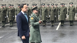 Taoiseach Leo Varadkar at the ceremony