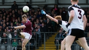 Galway's Johnny Heaney kicks a point