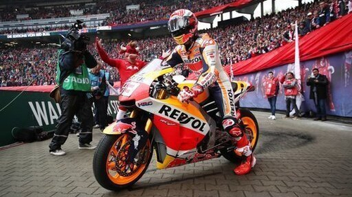 Marc Marquez claimed victory at the French Grand Prix