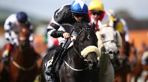 Soffia stormed to victory in the Sole Power Sprint Stakes