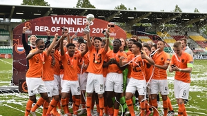 The Netherlands made it back to back successes at this age grade in Dublin