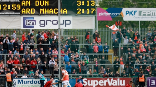 Armagh had one point to spare after nearly 120 minutes of action