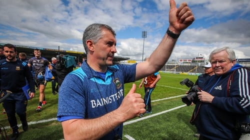 Laim Shhedy takes the plaudits at Semple Stadium