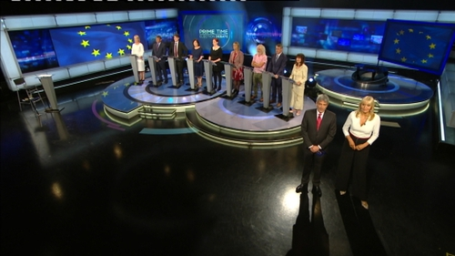 Nine of the 23 candidates in Ireland South participated in the Prime Time debate