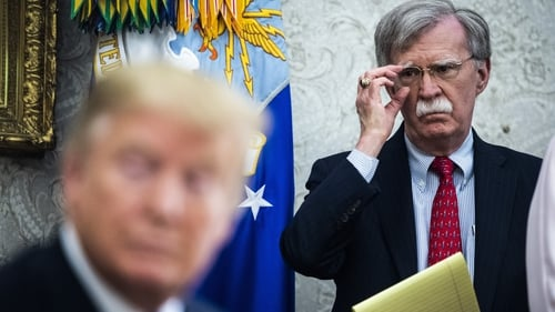 President Trump told John Bolton last night that his services are no longer needed at the White House