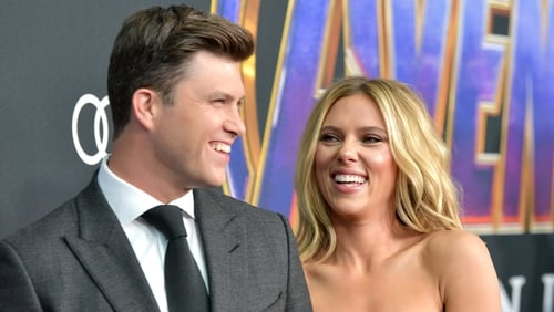 Scarlett Johansson and Colin Jost have been together for two years