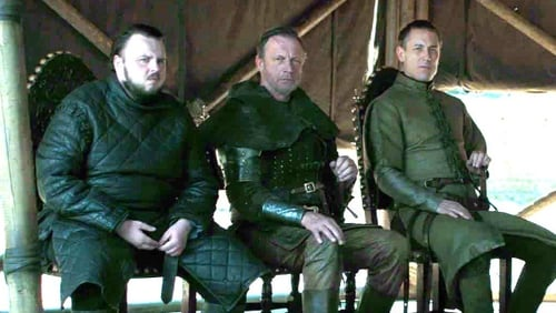 The latest anachronism was seen behind the foot of character Samwell Tarly during a tense encounter