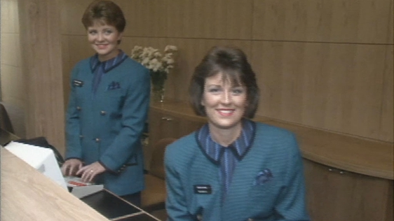 Aer Lingus new uniform.