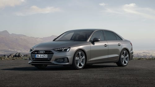 Audi's face-lifted A4 will be available towards the end of this year.