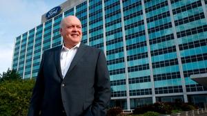Ford's chief executive Jim Hackett