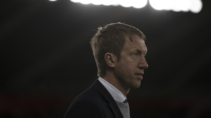 Graham Potter, who turned 44 on Monday, had two years left on his current deal at Swansea