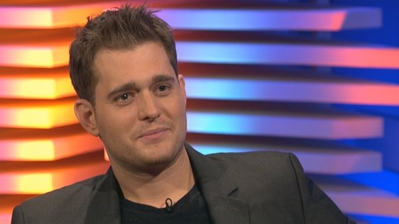Michael Bublé on the Late Late Show in 2007